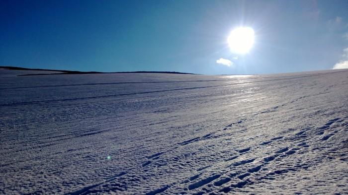 Vinterparadis om sommeren