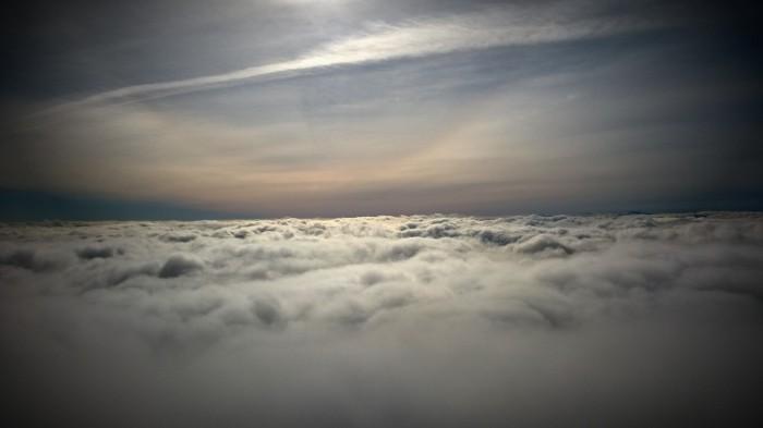På vei mot toppen, på vei mot himmelen