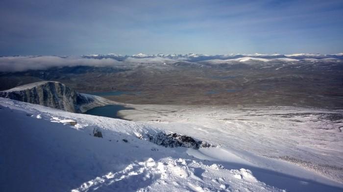 På toppen av Snøhetta