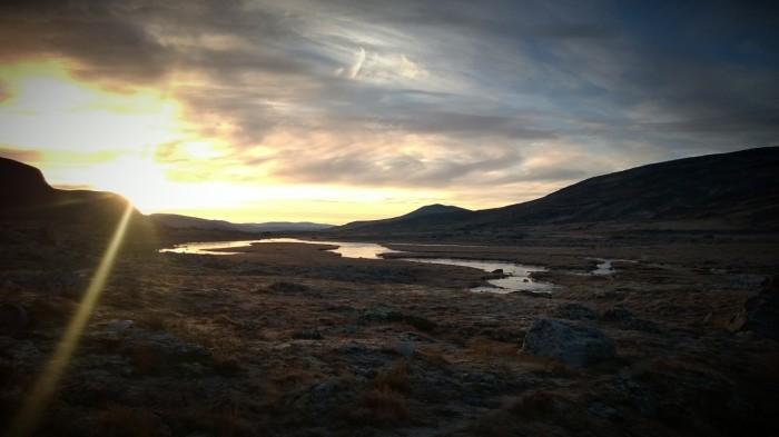 Morgenstund over Storplsjødalen