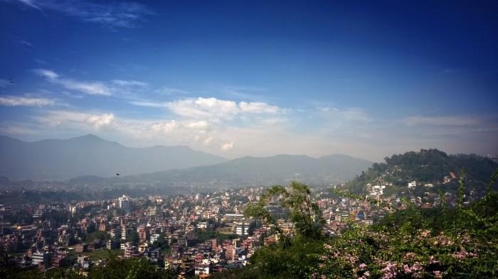 Utsikt over Kathmandu