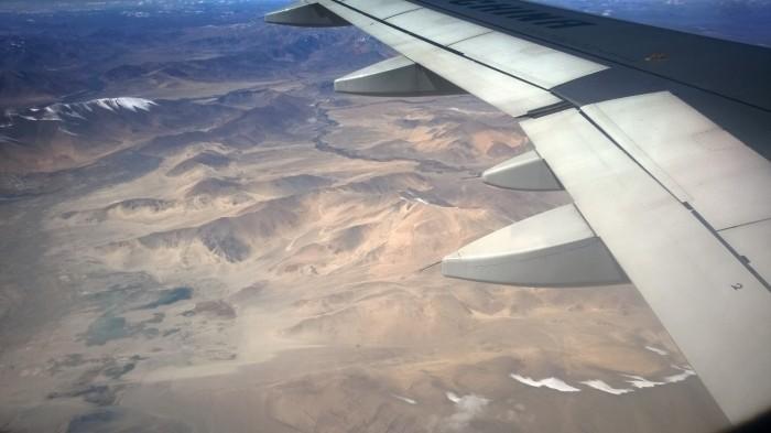 Ørken på tibetanske platå