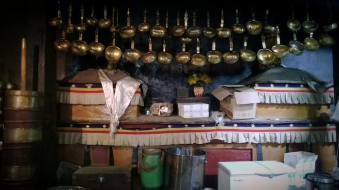Storkjøkken i Drepung tempel