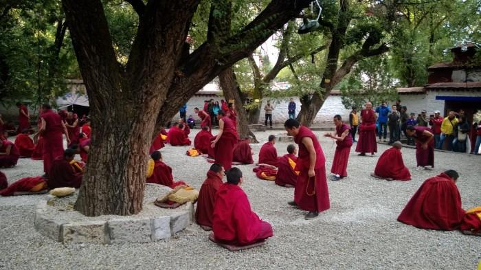 Sera tempel under 'debating'