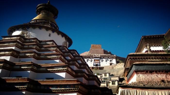 Palcho Tempel og Gyantse Kumbum