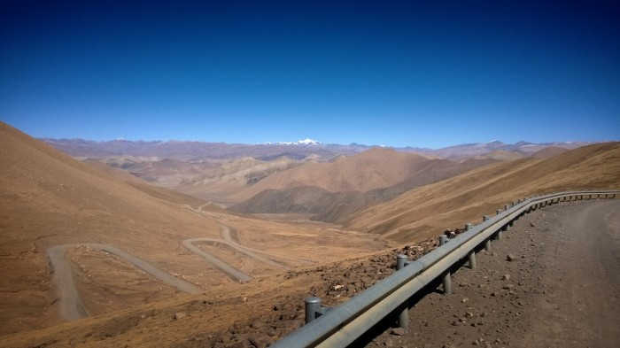 Utsikt fra Pang-La pass