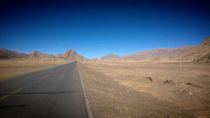 En iskald morgen i ørkenen