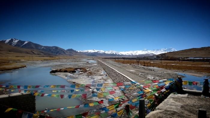 Utsikt over 4 av de 6 høyeste fjell i verden