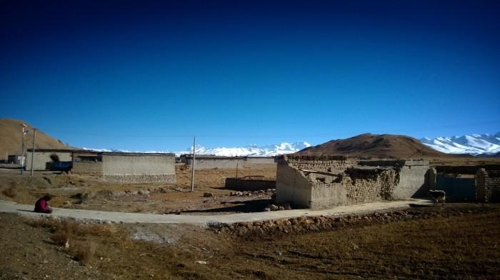 Besøk i en landsby