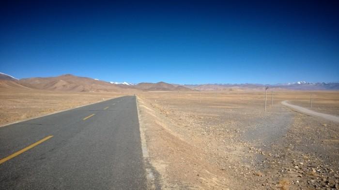 På vei mot Lallung passet