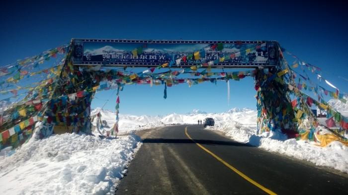Thang-La pass