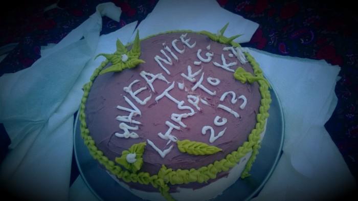 Kake vi fikk *^___^*