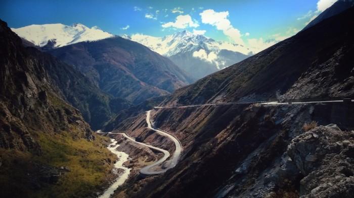 Downhill og Bhote Kohsi