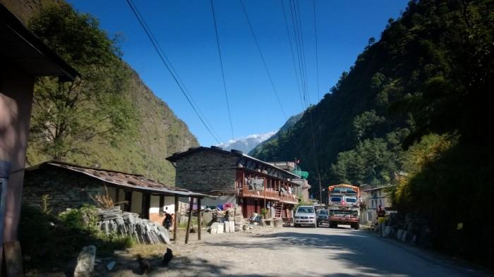 Nepalsk landsby