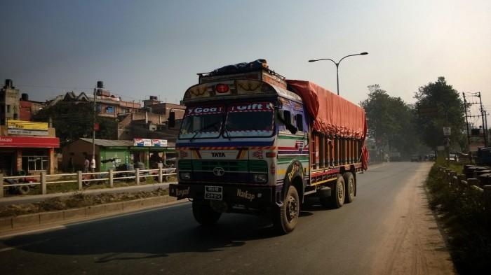 Nepalsk lastebil