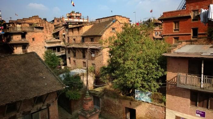 Rundt i byen av Bhaktapur