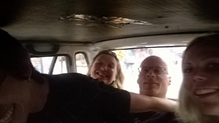 Intimt i taxien ^__^ Zemfira, Ken og meg