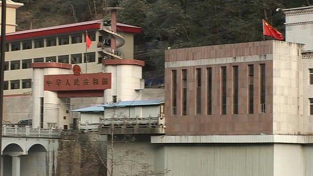 Den kinesiske side av grensen,bilde fra www.bbc.uk.co