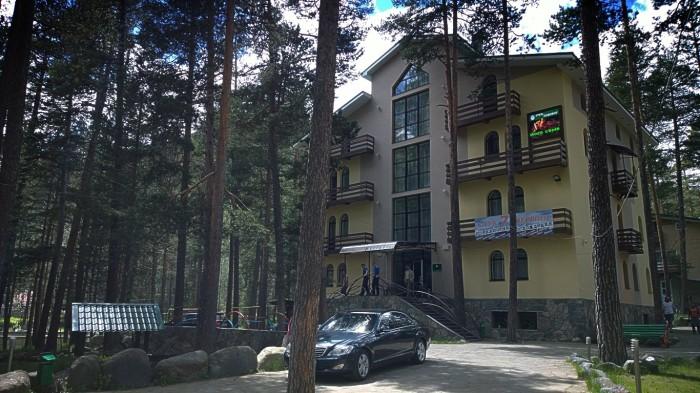 Hotellet i Cheget