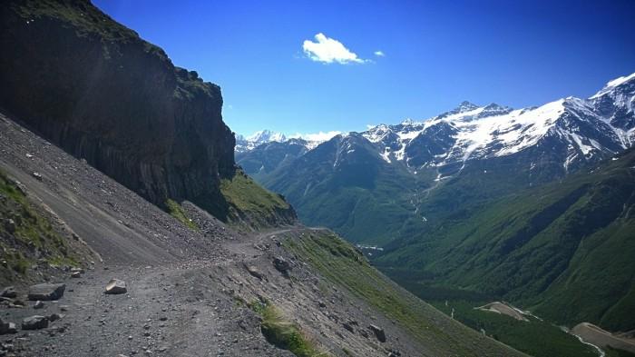 Basalt søyler fra Mt Elbrus