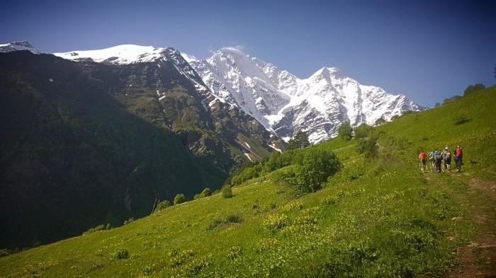 Donguzorun og Kaukasus massivet