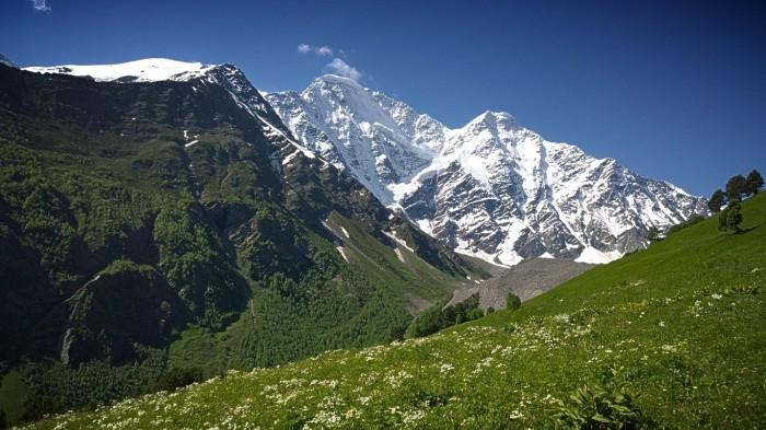 Donguzorun og Kaukasus hovedrygg
