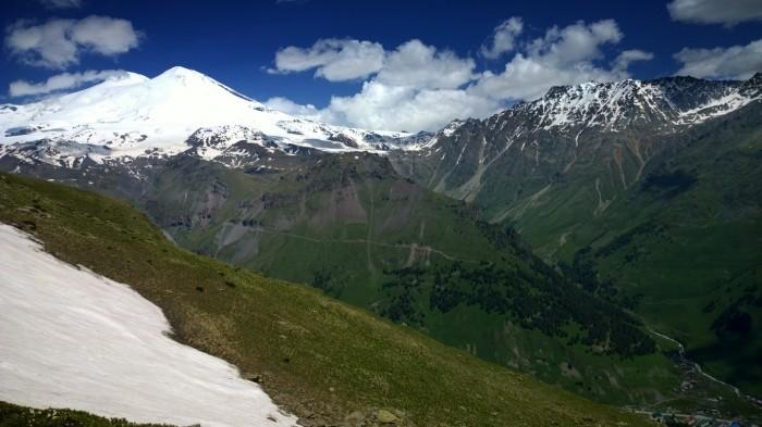 Utsikt over Elbrus