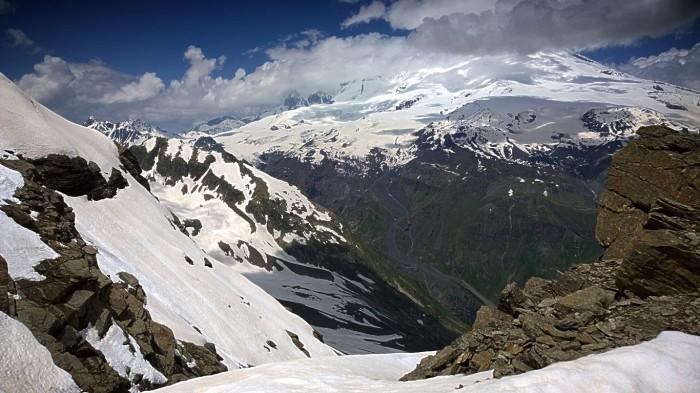 Elbrus i skyene