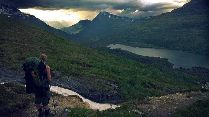 Utsikt over Innerdalen
