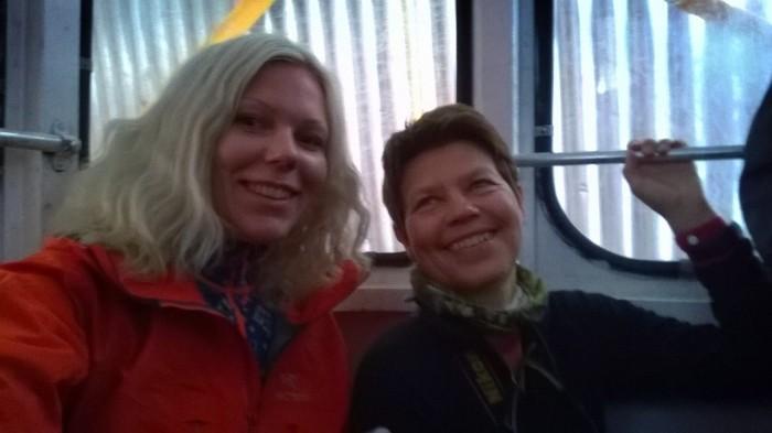 Mari Anne og jeg stal sitteplass ;)