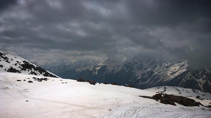 Litt grått på Elbrus