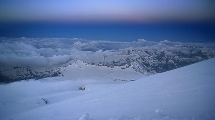 Kaukasus langt der nede