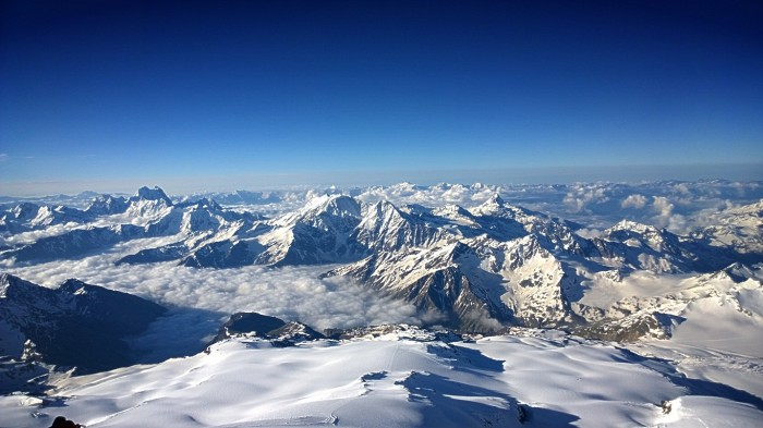 Det er fantastisk å tenke på at noen av de toppene er ca 4500 m.o.h.