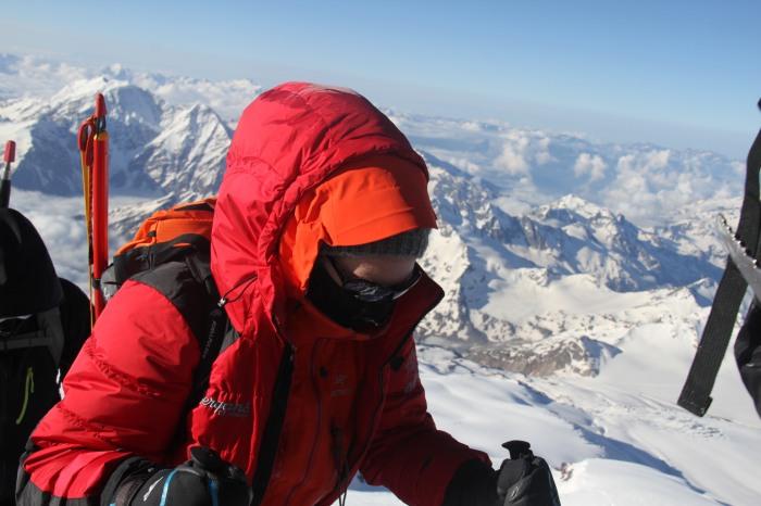 JEg vet presic hva jeg tenkte på her. Jeg tenkte på Tibet. Og hvor mye jeg liker når det er kaldt og snø.