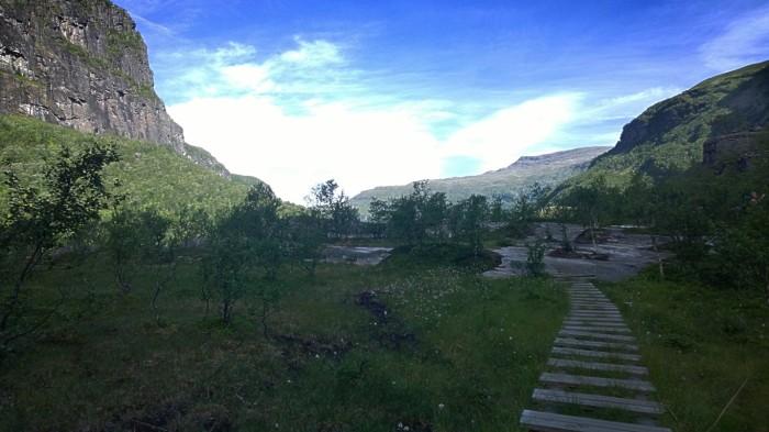 Utsikt fra Vetlahelvete