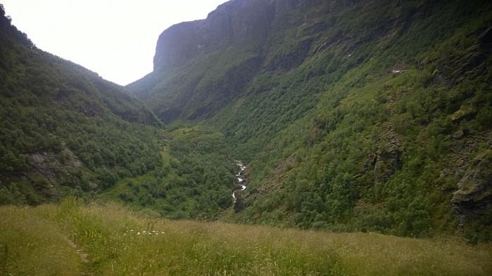 Utsikten fra Sinjarheim