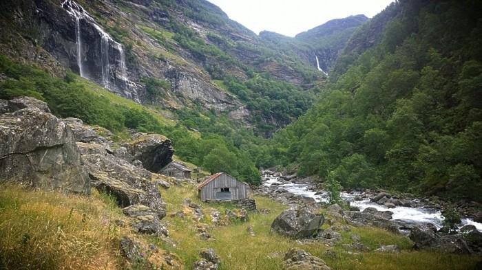 Siste del av Aurlandsdalen