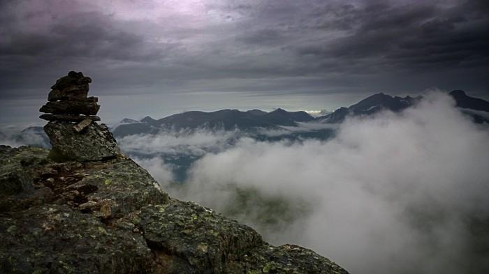 Utsikt over Romsdalen