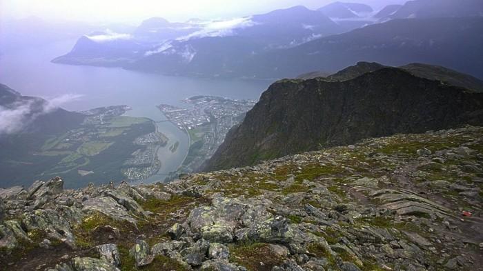 Et glimt av Åndalsnes