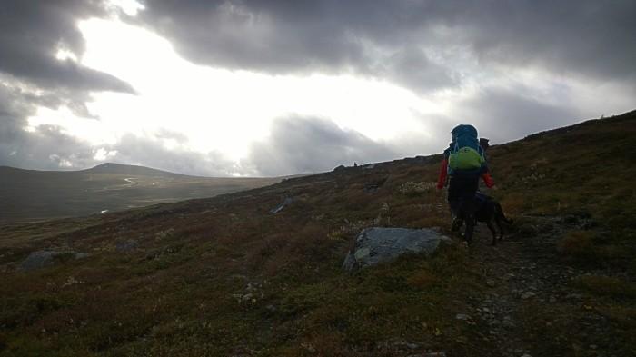 På vei mot Leirungsdalen