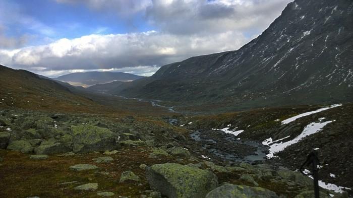 Mer steinete landskap