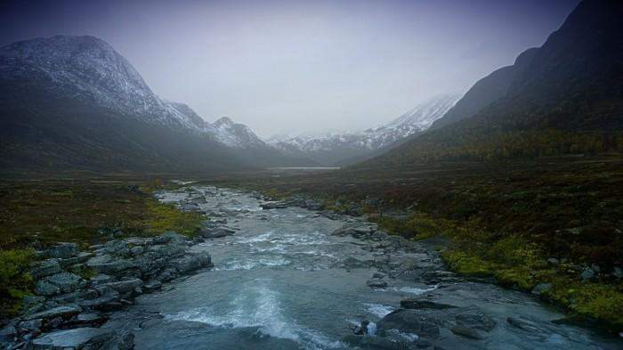 Høstvær i Jotunheimen