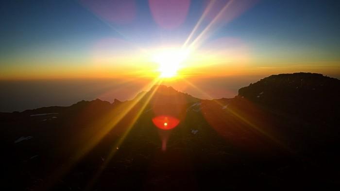 Den afrikanske solen