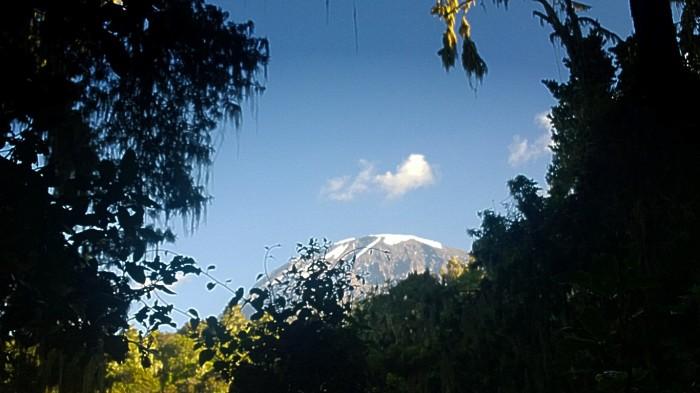 Siste utsiktspunkt mot Kibo