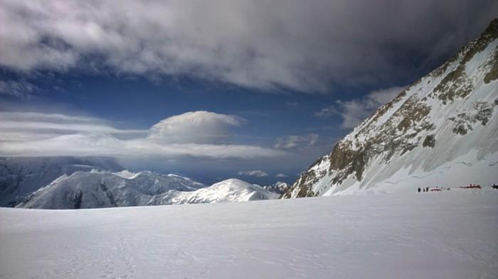 Utsikt fra Camp 3