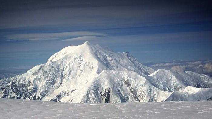 Mt Foraker i vakkert morgenlys