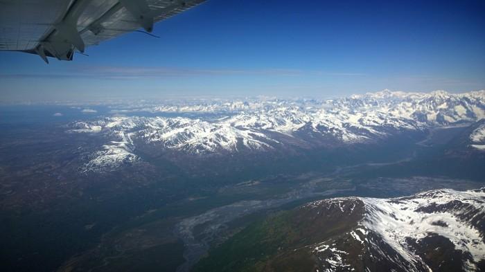 Overgangen mellom høyfjell- og slettelandskap