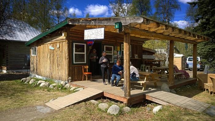Café i Talkeetna