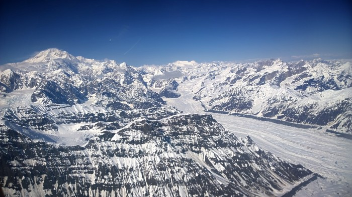 Alaska range og Mt Denali