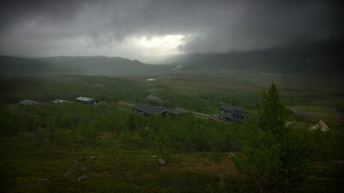Utsikten fra teltplassen